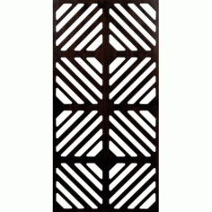 Decorative Grille Free DXF File