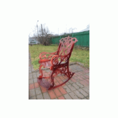 Sandalye Rocking Chair Free DXF File
