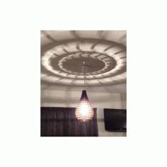 Tear Drop Pendant Lamp Free DXF File