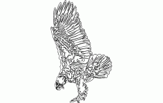 Eagle 7 Free DXF File