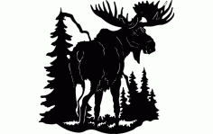 Moose 1 Free DXF File