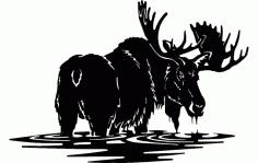 Moose 2 Free DXF File
