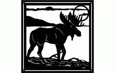 Moose 5 Free DXF File