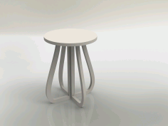 Tabouret 19mm Stool Free DXF File