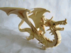 Dragon Assembly Model For Laser Cut Cnc Free CDR Vectors Art