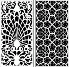 Honeycomb Bulkhead Design For Laser Cut Cnc Free CDR Vectors Art
