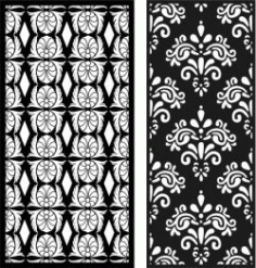 Ottoman Stencils For Laser Cut Cnc Free CDR Vectors Art