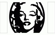 Screenshot Woman Free DXF File