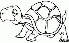 Turtle Free DXF File