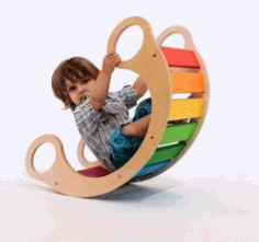 Assembling A Rocking Chair For Children For Laser Cut Cnc Free CDR Vectors Art