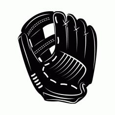 Baseball Gloves Free DXF File