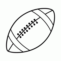 Football Ball Free DXF File