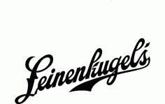 Leinenkugel Logo Free DXF File