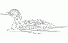 Loon Free DXF File