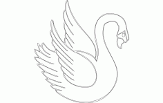 Swan Fixed Free DXF File
