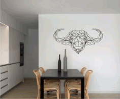 Buffalo For Laser Cut Plasma Free CDR Vectors Art