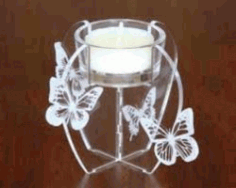 Candle Tray For Laser Cut Cnc Free CDR Vectors Art