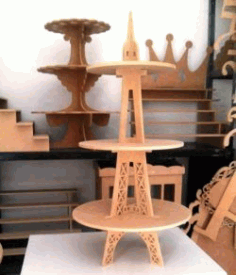 Display Price Of Eiffel Tower Products For Laser Cut Cnc Free CDR Vectors Art