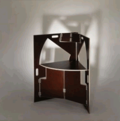 Folding Table For Laser Cut Cnc Free CDR Vectors Art