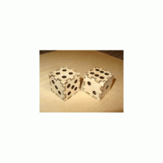 Laser Cut Dice Free DXF File