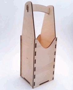 Mdf Wooden Handbag For Laser Cut Cnc Free CDR Vectors Art