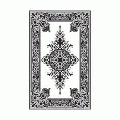 Alhambra Jali Design Pattern Free DXF File