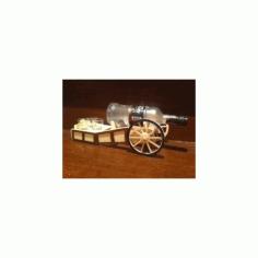 Mini Bar 6mm I 4mm 3d Puzzle Free DXF File