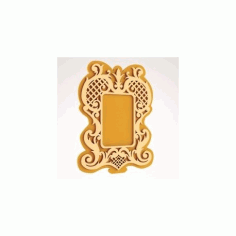 Decorative Mirror Frame Free DXF File