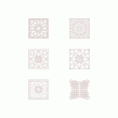 Moroccan Pattern Free DXF File