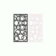 Pattern Design 2d 158 Free DXF File