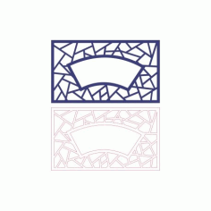 Pattern Designs 2d 119 Free DXF File