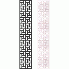 Pattern Designs 2d 121 Free DXF File