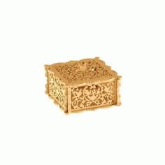 Wooden Jewelry Box Free DXF File