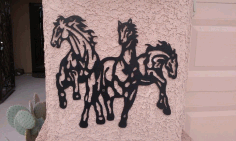 Horse Drawing Free DXF File