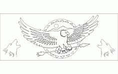 Native American Design Free DXF File
