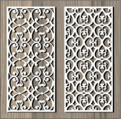 Crocheted Flower Pattern For Laser Cut Cnc Free DXF File
