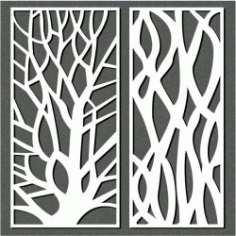 Designing A Tree For Laser Cut Cnc Free DXF File