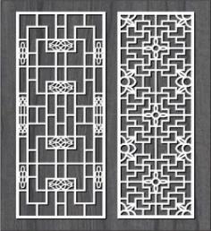 Square Frame Bulkhead For Laser Cut Cnc Free DXF File