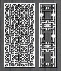 Swastika Pattern For Laser Cut Cnc Free DXF File