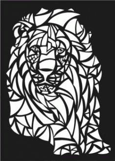 Lions Motifs Lion For Laser Cut Cnc Free DXF File