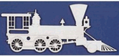2 Head Locomotive For Laser Cut Free CDR Vectors Art