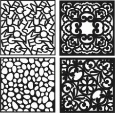 Decorative Vents For Laser Cut Cnc Free CDR Vectors Art