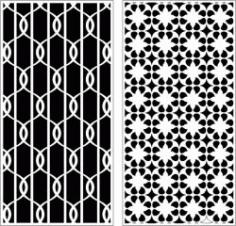 Design Pattern Panel Screen k992 For Laser Cutting Cnc Free CDR Vectors Art