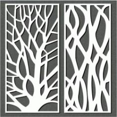 Designing A Tree For Laser Cut Cnc Free CDR Vectors Art