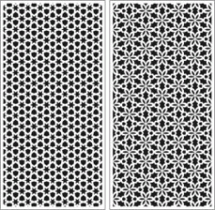 Floral Dividers And Stars Seamless For Laser Cut Cnc Free CDR Vectors Art