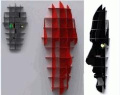 Head Shelf For Laser Cut Cnc Free CDR Vectors Art