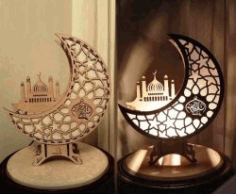 Islamic Lights For Laser Cut Free CDR Vectors Art