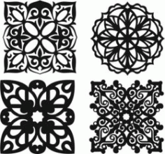 Islamic Motif Creation For Laser Cut Plasma Free CDR Vectors Art