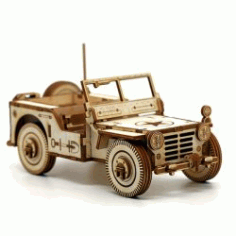 Military Vehicle Car For Laser Cut Cnc Free CDR Vectors Art