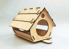 Nesting Houses To House Birds For Laser Cut Cnc Free CDR Vectors Art